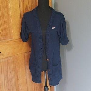 Hollister Short Sleeve Cardigan
